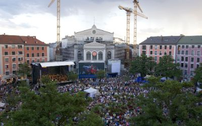 Gärtnerplatztheater beim Open Air