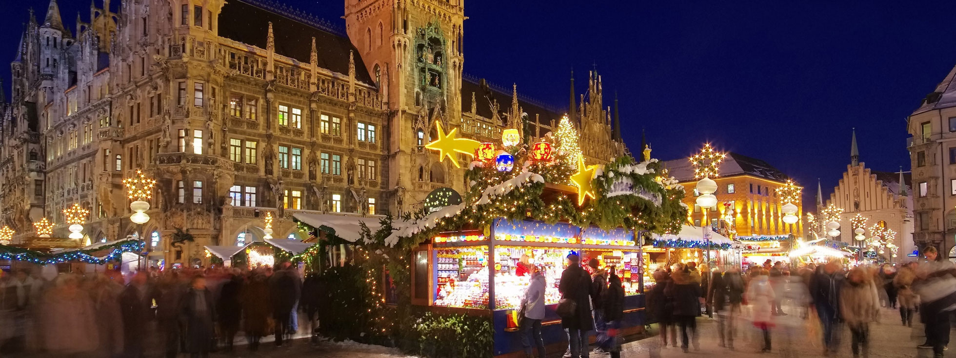 Getting To The Munich Christmas Market Official Website