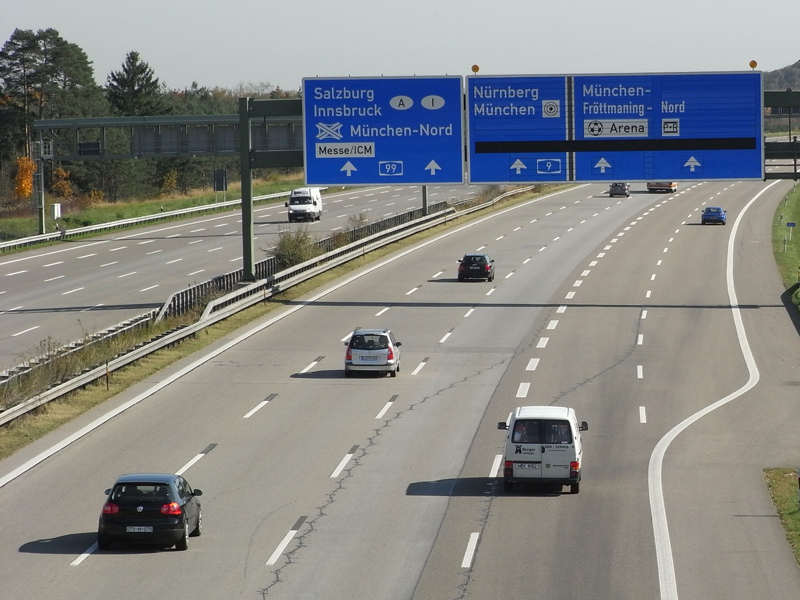 Actual Traffic Reports for Munich and Bavaria
