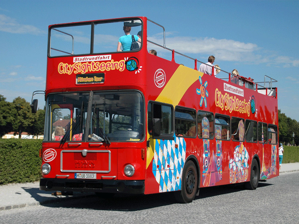 citysightseeing munich official website for munich. Black Bedroom Furniture Sets. Home Design Ideas